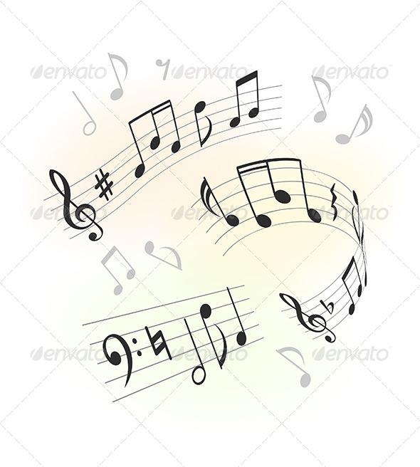 GraphicRiver Music Design Elements 6096367