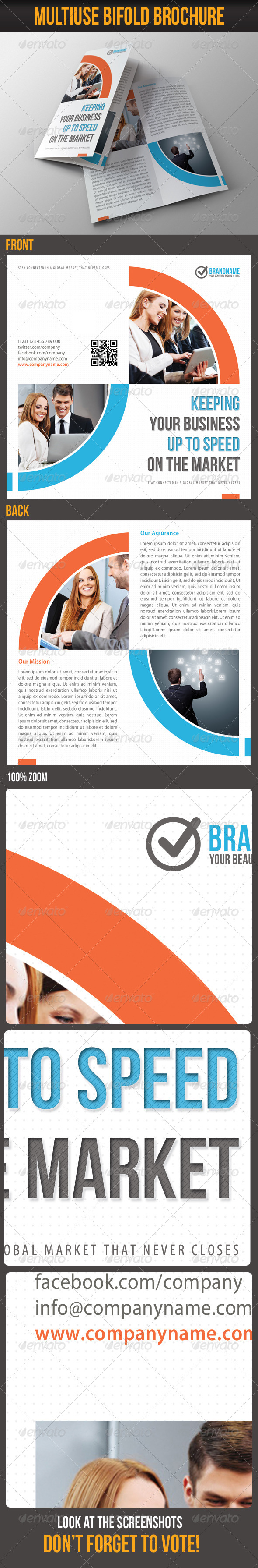 GraphicRiver Multiuse Bifold Brochure 10 6097322
