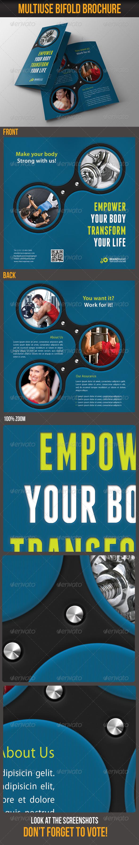 GraphicRiver Multiuse Bifold Brochure 13 6097887