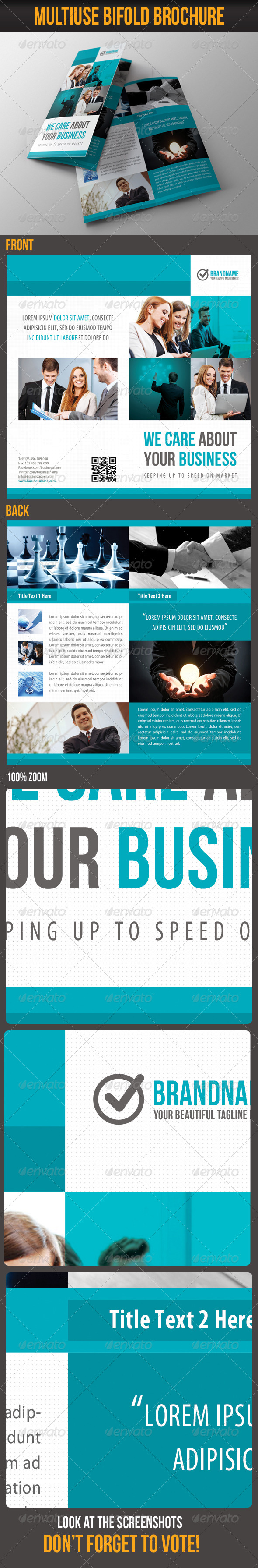 Multiuse Bifold Brochure 14 - Corporate Brochures