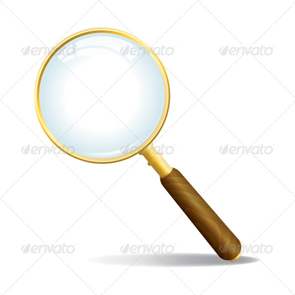 GraphicRiver Vector Magnifying Glass 6098296