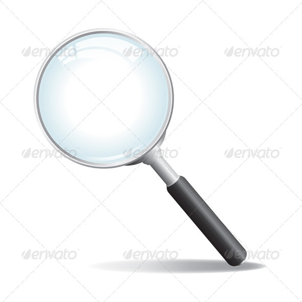 GraphicRiver Vector Magnifying Glass 6098317