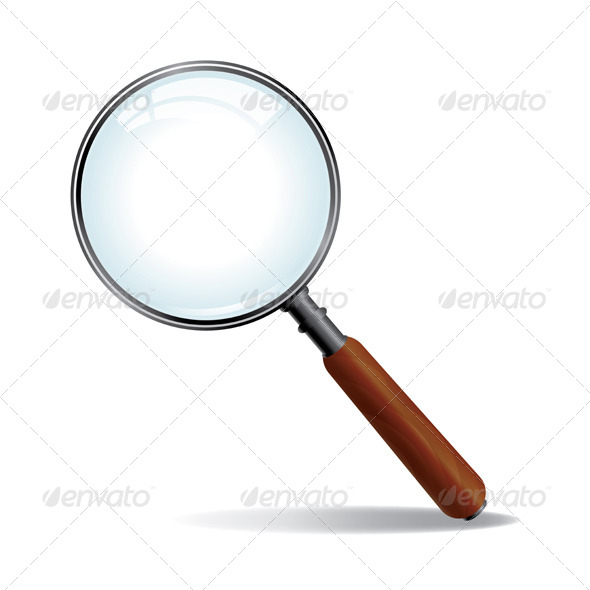 GraphicRiver Vector Magnifying Glass 6098323