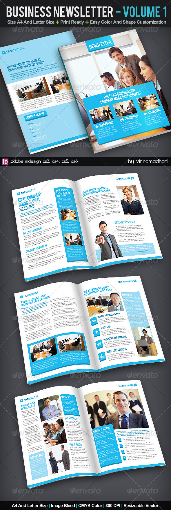 GraphicRiver Business Newsletter Volume 1 6098666