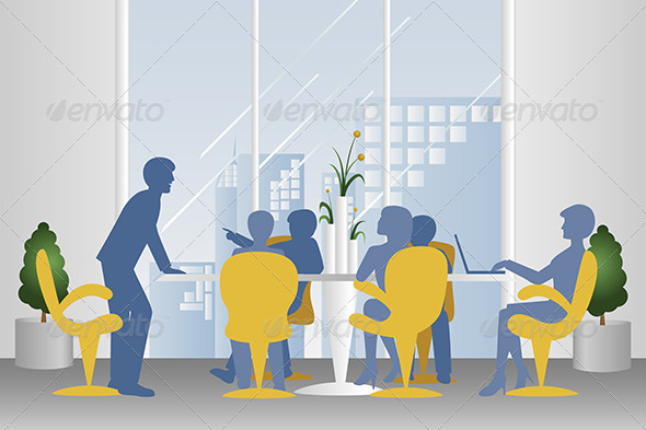 GraphicRiver Business Meeting 6099761