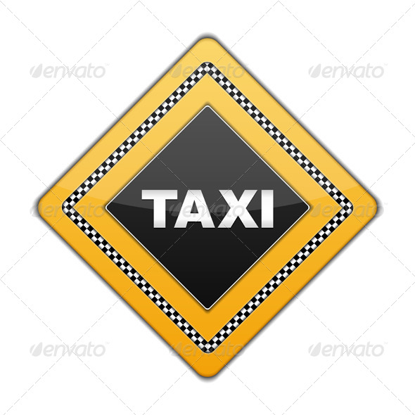 GraphicRiver Taxi Sign 6101402