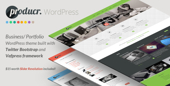Producr - Business/Folio WordPress theme - Business Corporate