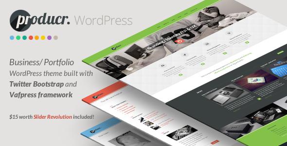 ThemeForest Producr Business Folio WordPress theme 6037431
