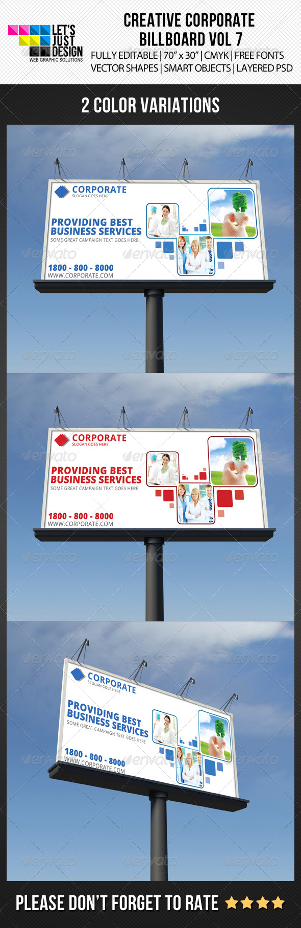 GraphicRiver Corporate Billboard Banner Vol 7 6079620