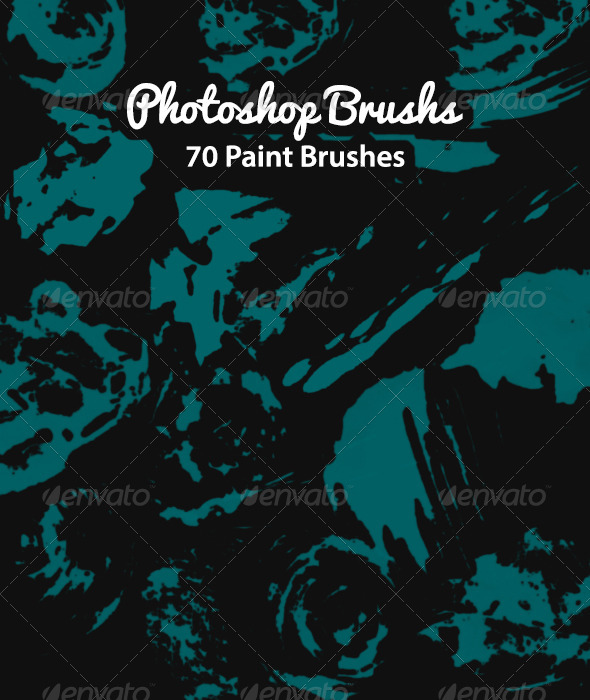GraphicRiver SS Paint Brushes 6101703