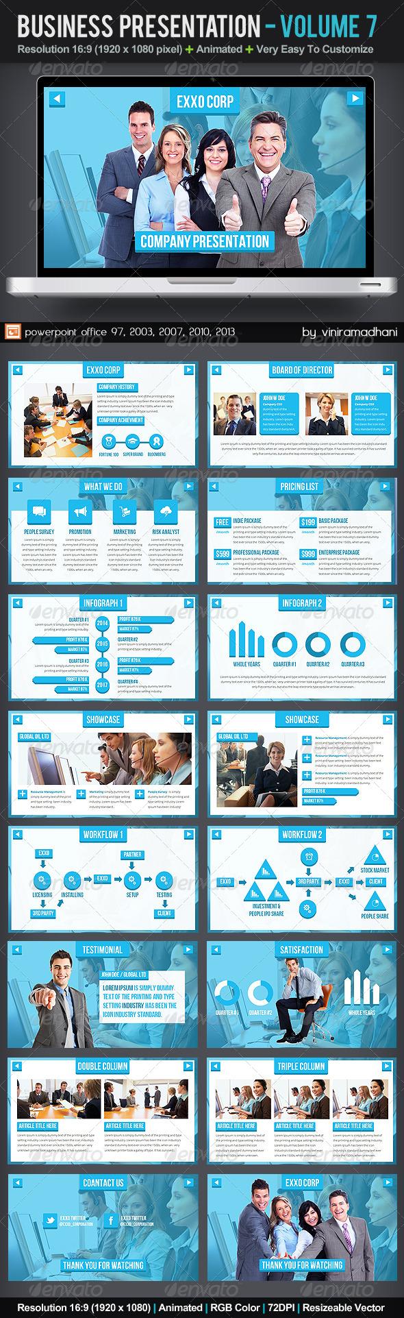 GraphicRiver Business Presentation Volume 7 6101717
