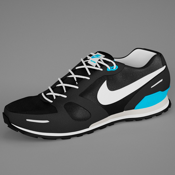 Shoes Nike Waffle Trainer - 3DOcean Item for Sale