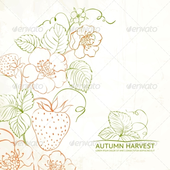 GraphicRiver Strawberries Brunch 6102444