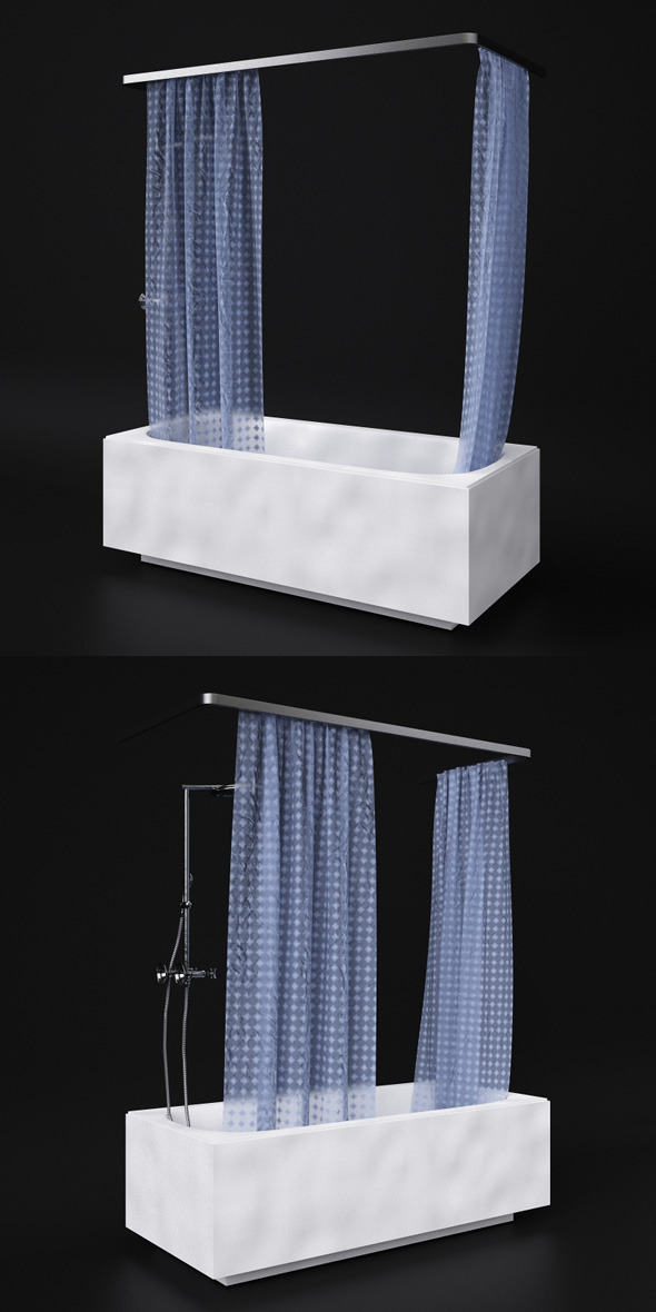 3DOcean Bath and shower 6102446