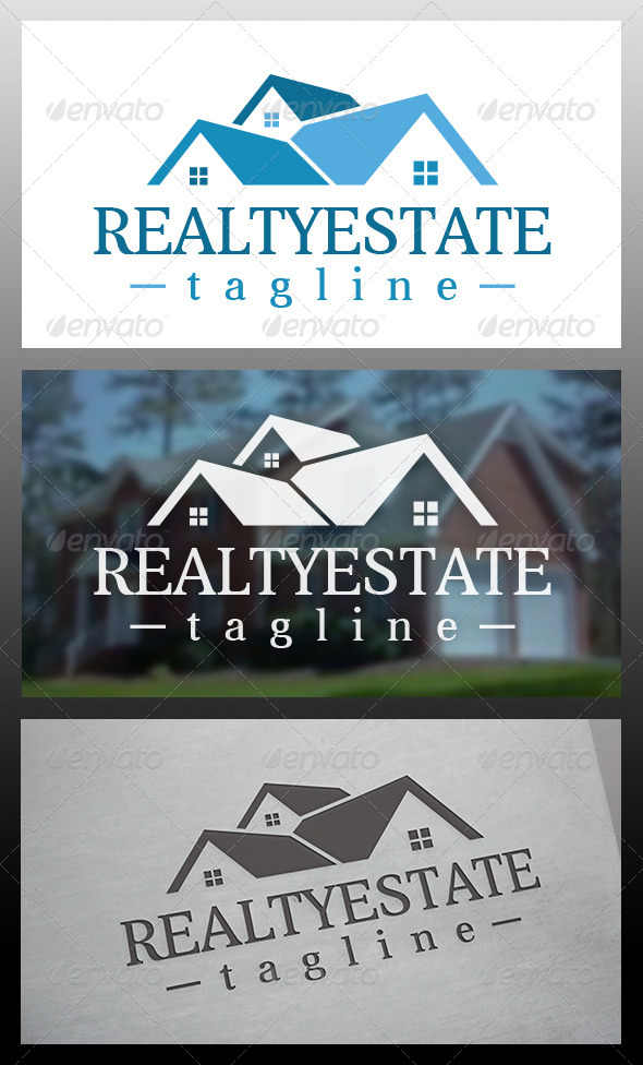 GraphicRiver Realty Logo Template 6102466