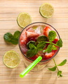 Strawberry mohito with mint - PhotoDune Item for Sale