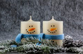 Snowman candles - PhotoDune Item for Sale