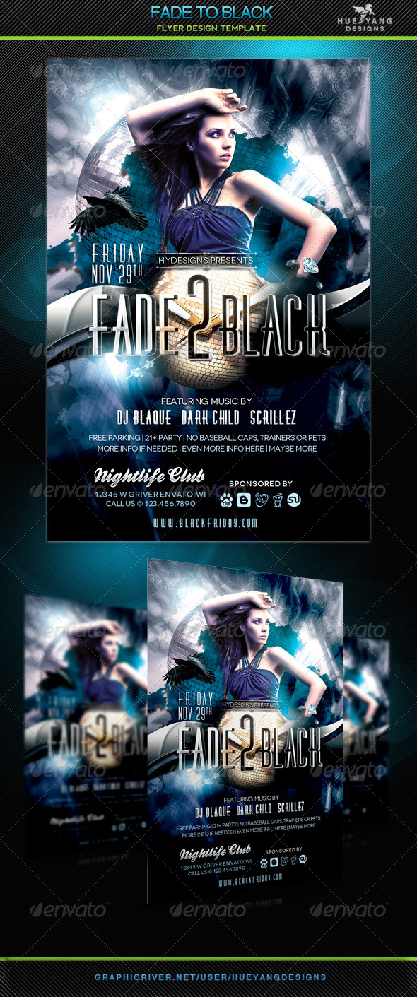 Fade To Black - Clubs & Parties Events