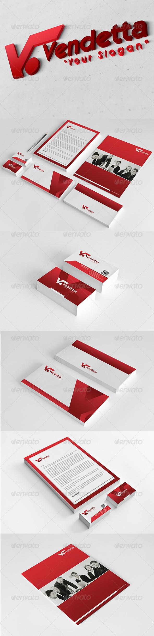 GraphicRiver Vendetta Corporate Identity Package V2 6079258