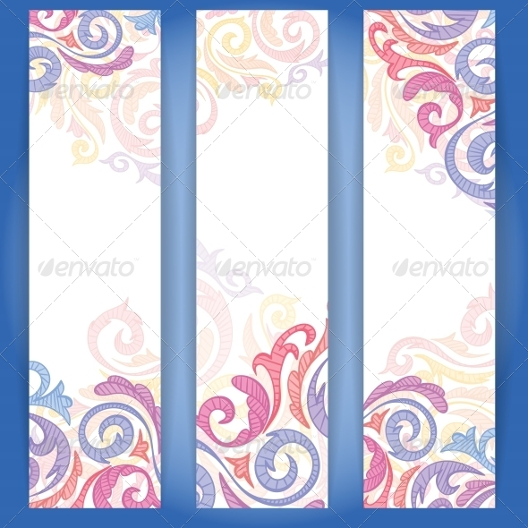 GraphicRiver Set of Colorful Banners 6103415