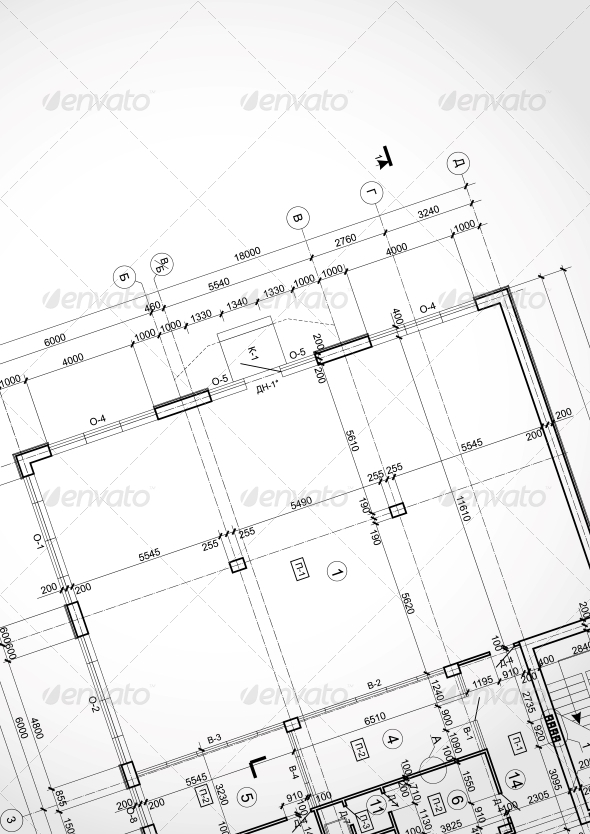 GraphicRiver Architectural Background 6103434