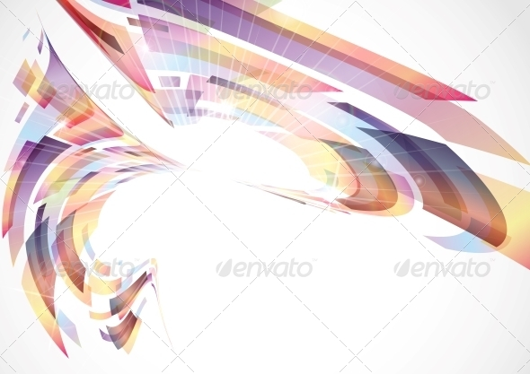 GraphicRiver Abstract Colorful Background 6103438
