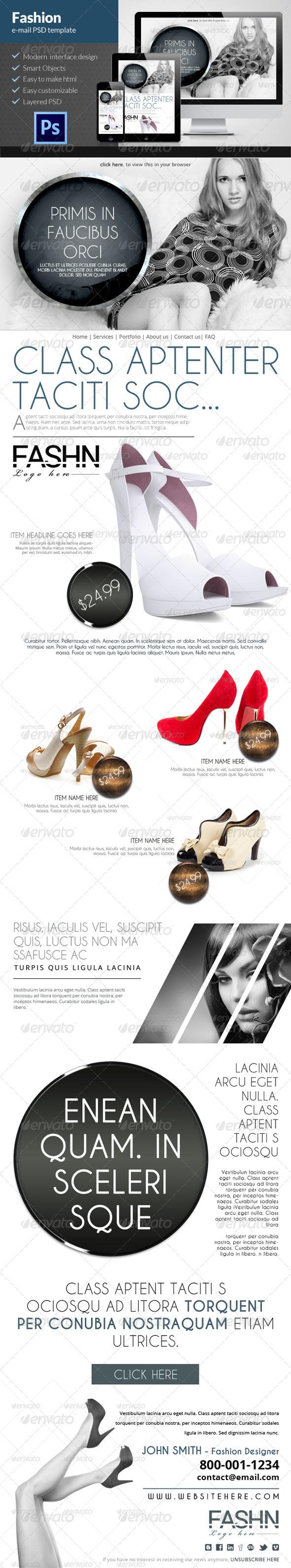 Fashion E-mail Newsletter
