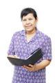 Senior woman with organizer - PhotoDune Item for Sale