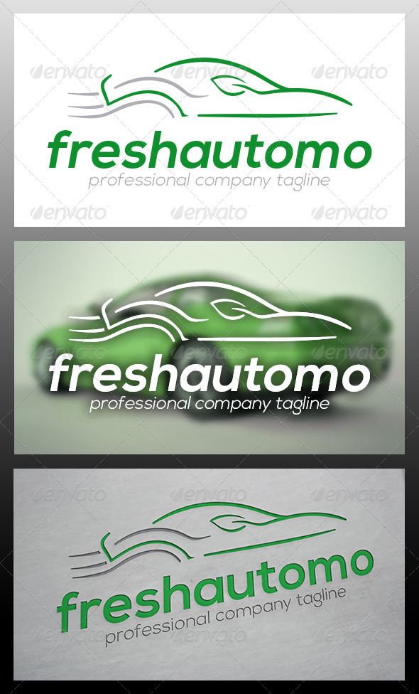GraphicRiver Fresh Car Logo Template 6104293