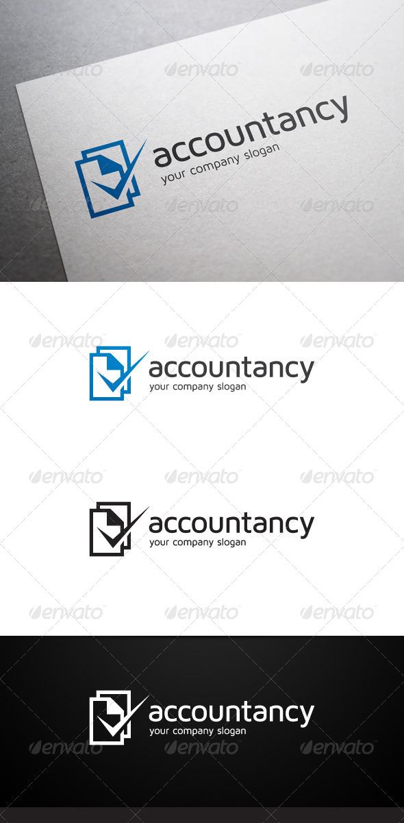 GraphicRiver Accountancy Logo 6104341