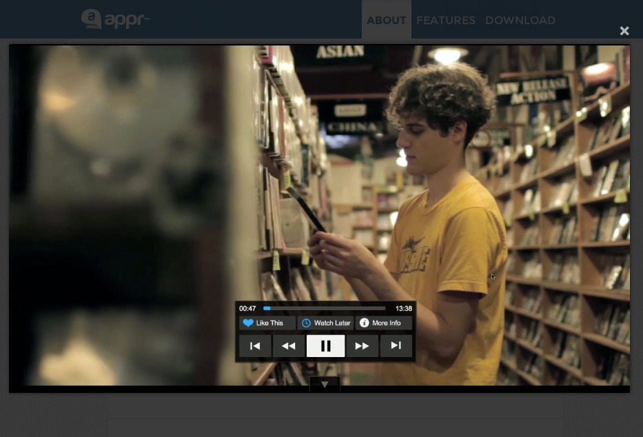 Appr - HTML5 Responsive App Showcase Theme