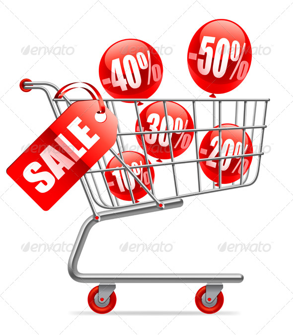 Sale Concept - Commercial / Shopping Conceptual