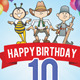 Happy Birthday Party Flyer / Poster - GraphicRiver Item for Sale