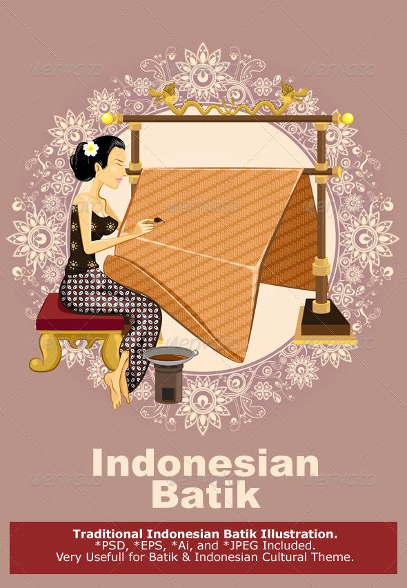 GraphicRiver Traditional Indonesian Batik 6104666