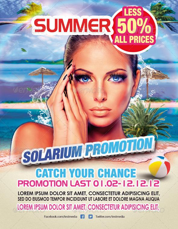 GraphicRiver Solarium Flyer Template 6056784