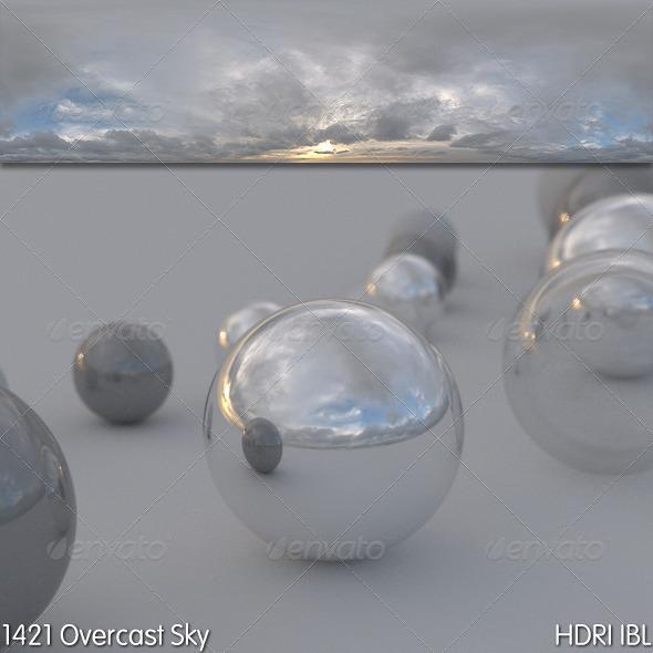 3DOcean HDRI IBL 1421 Overcast Sky 6104889