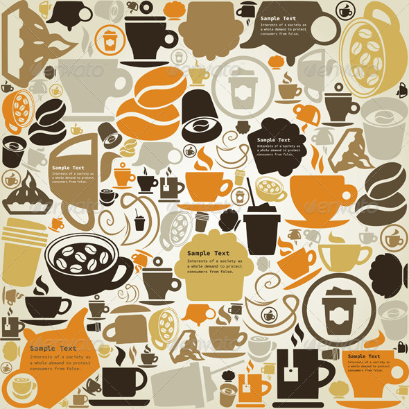GraphicRiver Coffee a Structure 6105343
