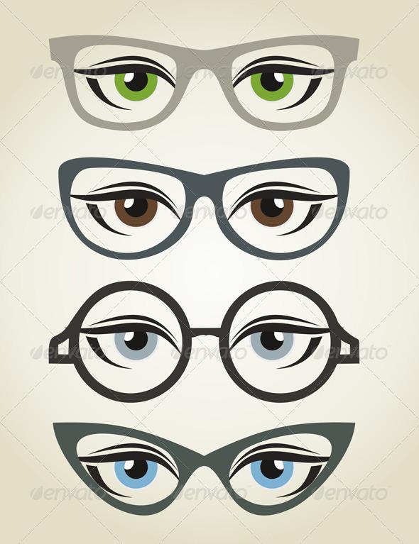 GraphicRiver Glasses2 6105448