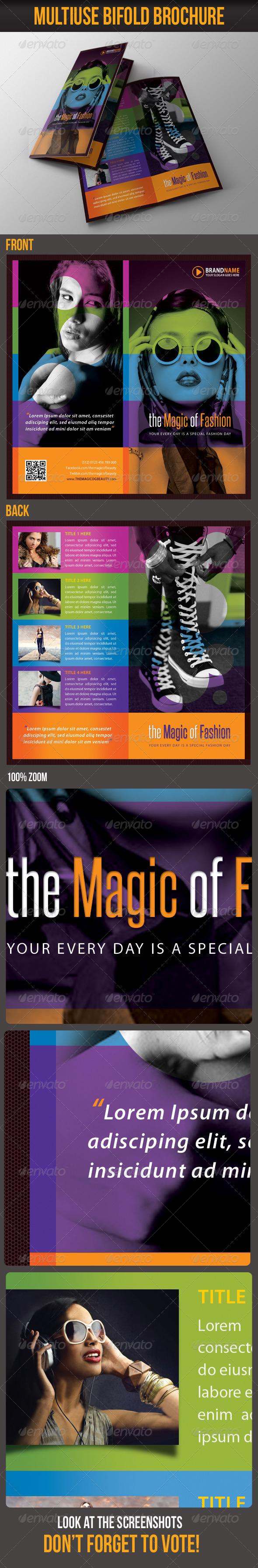 Multiuse Bifold Brochure 20 - Catalogs Brochures