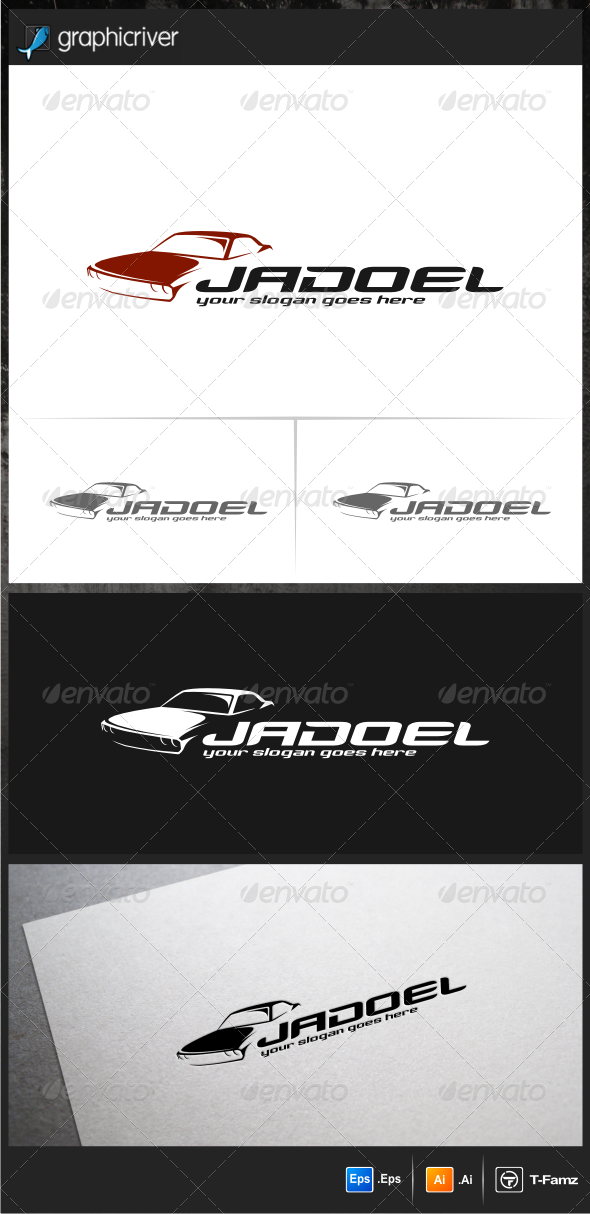 Classic Car II Logo Templates - Objects Logo Templates