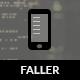 Faller | Móveis Retina HTML5 e CSS3 com WebApp - Mobile modelos de site