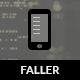 Faller | HTML5 Retina มือถือและ CSS3 กับ WebApp - แม่แบบ เว็บไซต์ มือถือ