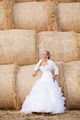 Bride by the Hayrick - PhotoDune Item for Sale