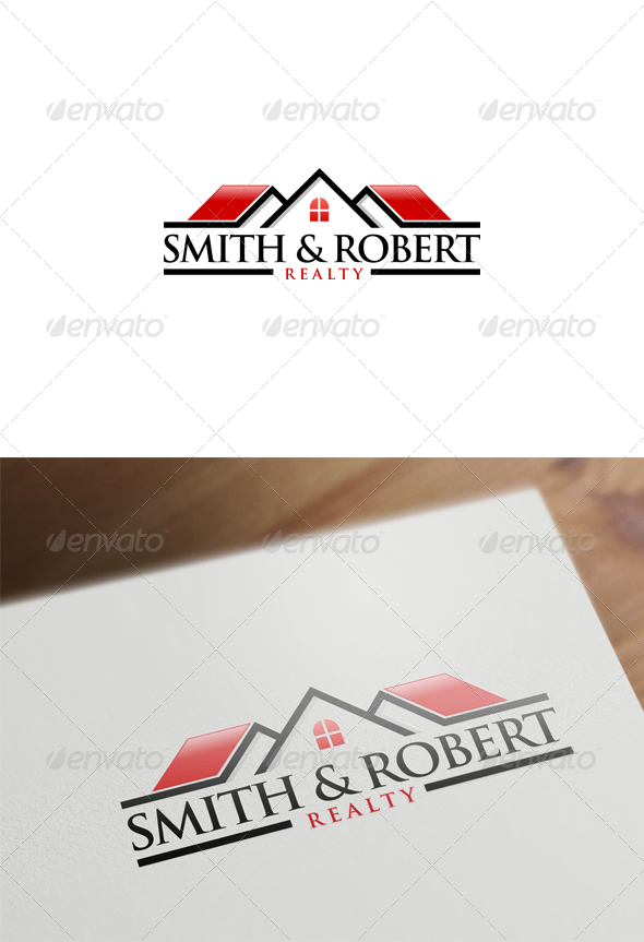 GraphicRiver Real Estate Logo Design 6107143