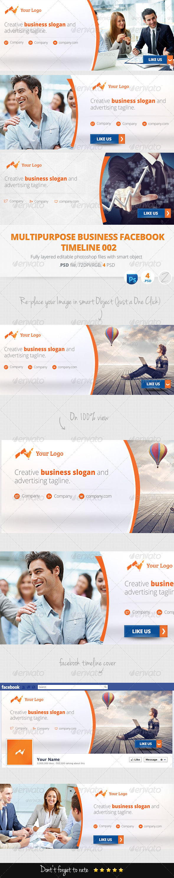 GraphicRiver Facebook Timeline Cover 6107382