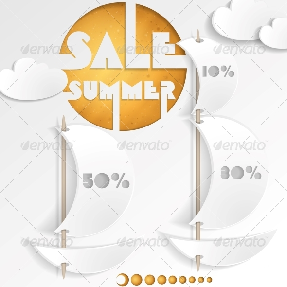 GraphicRiver Summer Sale Business Background 6107596