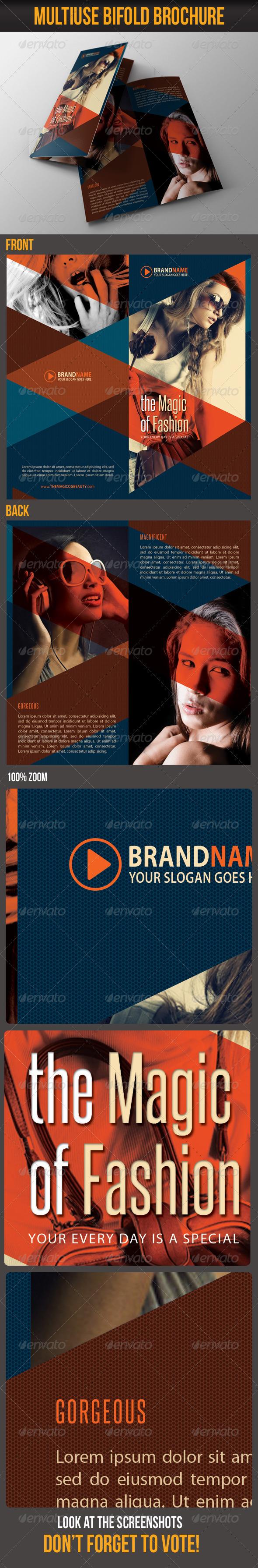 GraphicRiver Multiuse Bifold Brochure 21 6107720