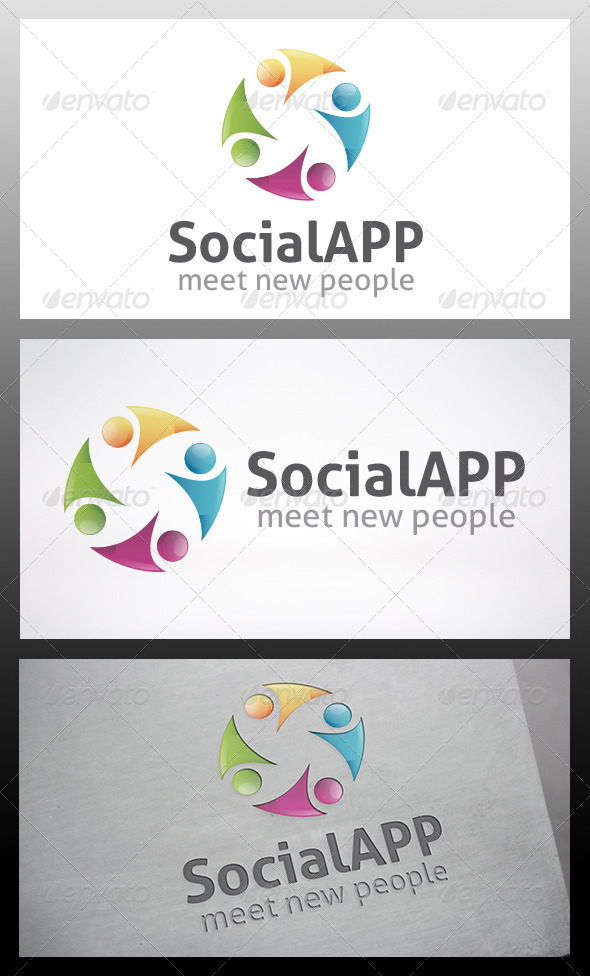 GraphicRiver Social Logo Template 6107761