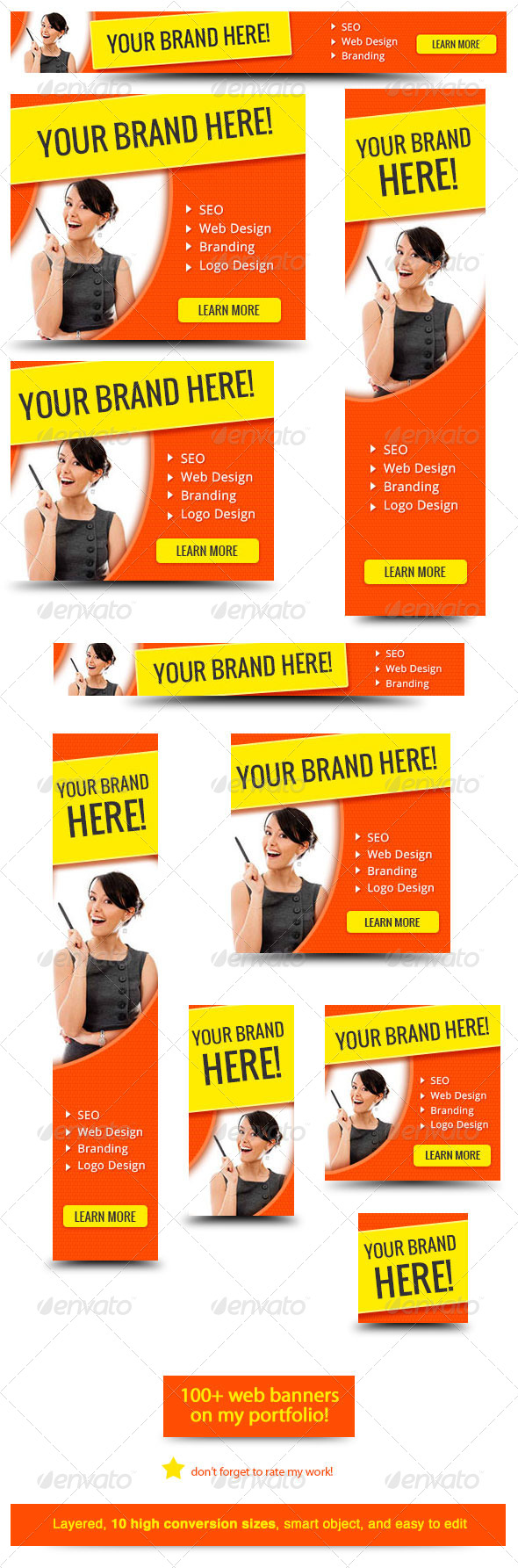 GraphicRiver Your Brand Here Web Banner 6108544