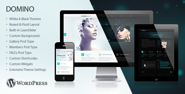 Domino Responsive WordPress Theme - Creative WordPress